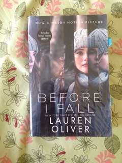 Before I fall by Lauren Oliver 📖📚
