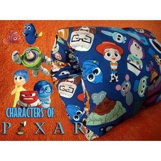 Nursing Arm Pillow Breastfeeding Travel Reversible Slip On Pixar Cartoons