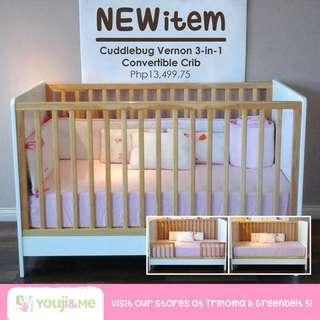 Cuddlebug Wooden Crib