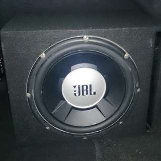 JBL GT5-12 subwoofer with enclosure