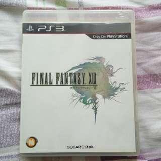 Final Fantasy 13 XIII PS3 日文版