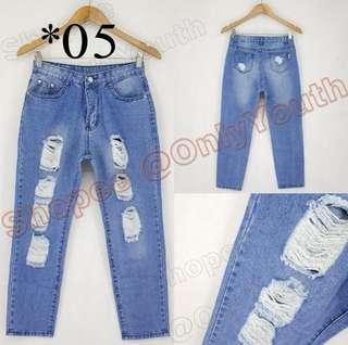 Boyfriend Pants (Original Price 600)