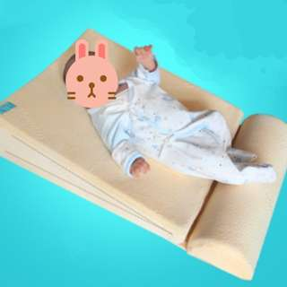 Baby bed wedge pillow