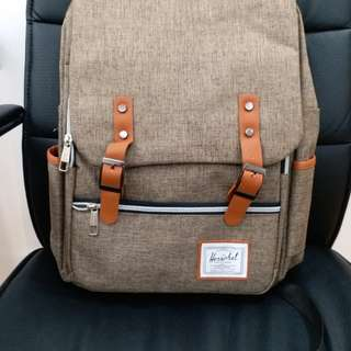 Korean unisex Backpack with laptop compartment