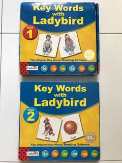 Key Words with Ladybird - 2 Box Sets