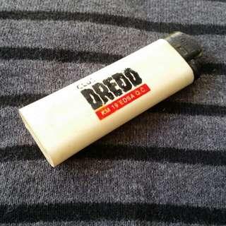 Club Dredd lighter