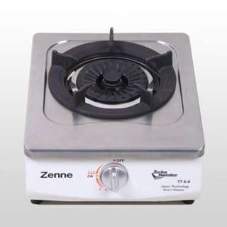 Zenne Stainless Steel Gas Cooker 1 Burner (KTC18)