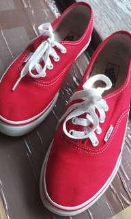 Vans Classic Red