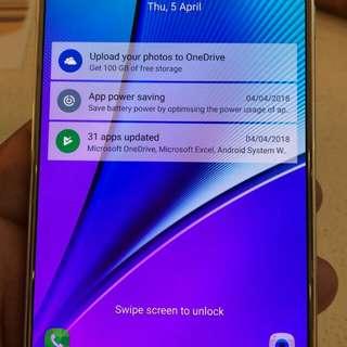 Samsung note  5. N 920c no bargain