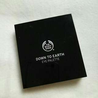 The Body Shop Eye Palette Down to Earth 03