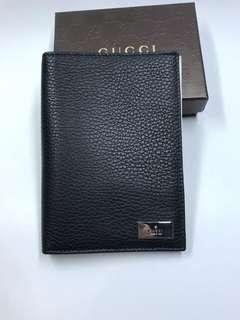 Gucci  古馳 真皮護照套 多間格 全新購自意大利