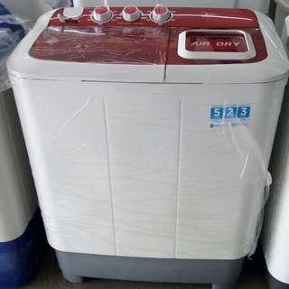 Midea mesin cuci 2 tabung bisa cicilan tanpa DP