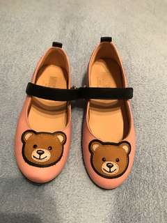 Moschino bear pink shoes sz29