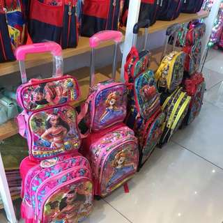 Discount 30%: Children's school bag complimentary with pencil case & small bag