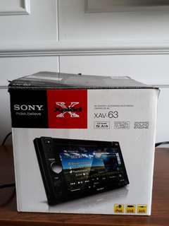 Head Unit Sony XAV-63