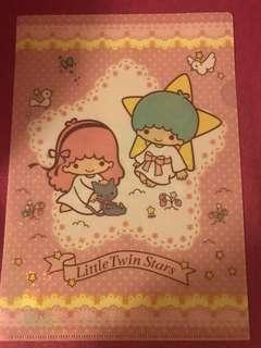 Little Twin Stars Plastic folder