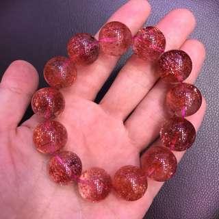 Premium strawberry quartz