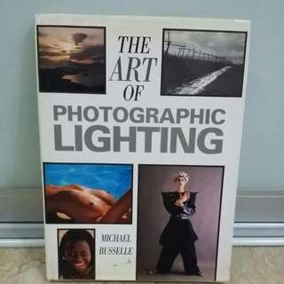 The Art Of Photographic Lighting Book