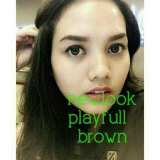 Softlens MINUS Newlook Wonder Playfull