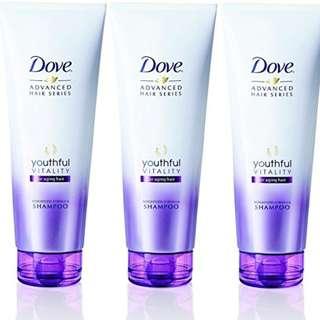 Advanced Hair Series Youthful Vitality Shampoo 250ml