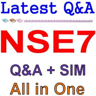 Fortinet Troubleshooting Professional NSE7 Exam Q&A PDF