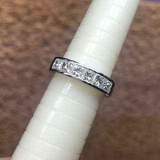 周大福 18kt diamond ring