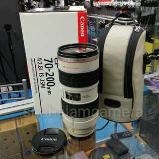 USED CANON EF 70-200MM F2.8 L IS USM ZOOM LENS