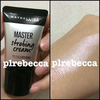 [NEW] MAYBELLINE MASTER STROBING CREAM SHARE IN JAR PINK NUDE HIGHLIGHT HIGHLIGHTER MURAH ORI ASLI