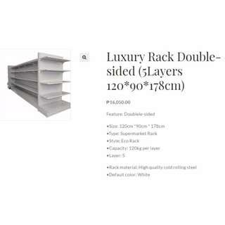 Luxury Rack Double Sided