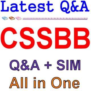 ASQ Certified Six Sigma Black Belt CSSBB Exam Q&A PDF+SIM