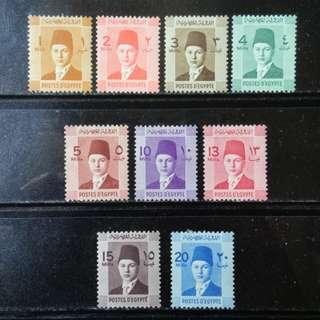 [lapyip1230] 埃及王國 1932年 法老王 新票全套 Mint