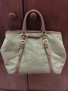 Authentic Prada Jacquard