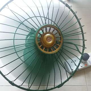 古 董 三菱 360度 天旋地轉 電風扇