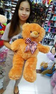 Teddy bear WITH ZIPPER  SIZE : 24INCH OR 2FT