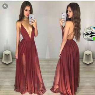 Like this or any sexy back gown/long dress pwede sa wedding