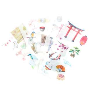 Sticker Set (Japanese) (Ref No.: 220)