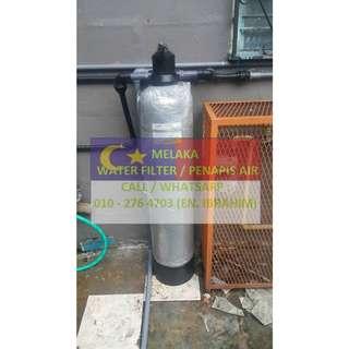 water filter outdoor master with installation at ASHAN MELAKA / penapis air utama luar rumah siap pasang di AASHAN MELAKA