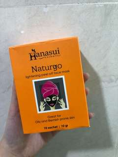 Hanasui naturgo lightening mask