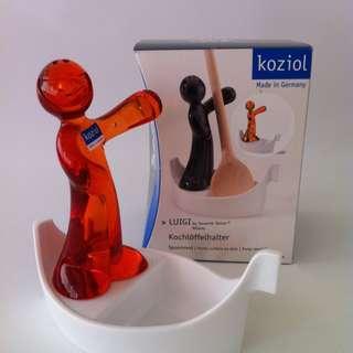 "SKU#L00379""LUIGI"" Spoonrest by Koziol 100% Made in Germany"
