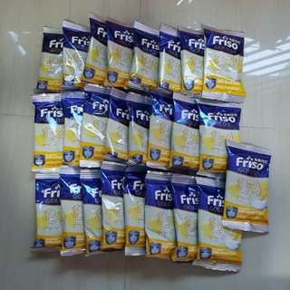 25 sachets of Friso Gold Rice Based Milk Cereal