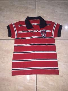 Grizzly Polo Shirt XS on tag will fit 3-5 years old