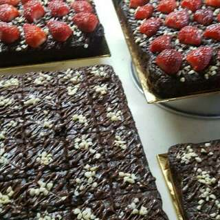 Brownies Nutella Drizzle RM30