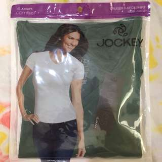 Women's V Neck shirt NEW Green Medium - Large