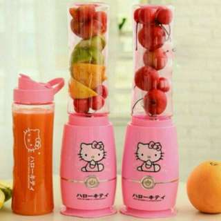 Hello Kitty Shake and Take Blender with 2 Bottle