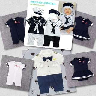 Sailor's Outfit Romper