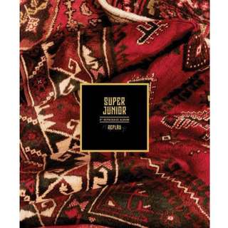 [PREORDER] Super Junior 8th Repackage Album - Replay