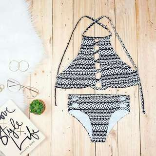 2pc.halter swimmsuits w/pads