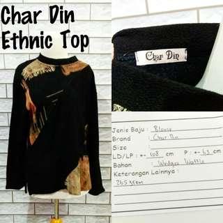 Char Din Ethnic Top | Pakaian Wanita | Atasan Import