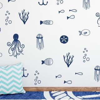 Underwater Themed Wall Decal