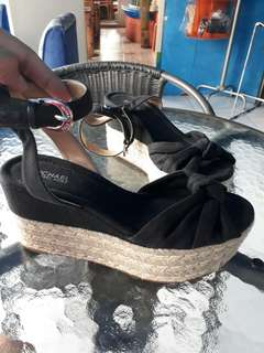 Authentic Michael Kors Wedge Sandals.
